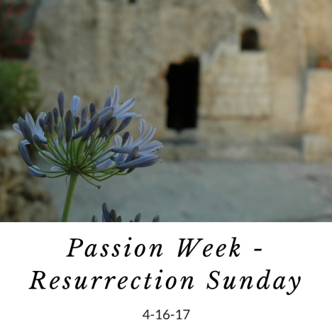 Passion Week Resurrection Sunday garden tomb freeimages M Nota design.png